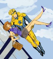 Booster Gold to the Rescue by BTFM-neko-sama