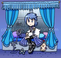 KH: By The Window by pikaplusmin