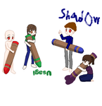 crayon colab by shadowman50