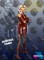 characters promos: Ahsoka Tano by niniisolated
