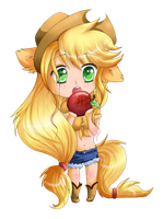Applejack by lulu-fly