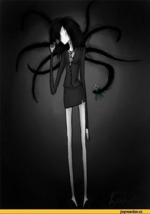 Faceless f slender man x creepypasta male reader by cheifachu on