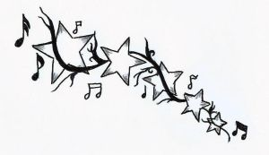 Stars and music by Bombombeesje