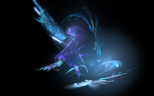 Apophysis Render - Blue Pulse by SassyTheDragongirl