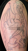 Dragon Tattoo - Session 1 - Round 1 by pure-faces