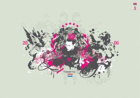 Tiesto by thedesignchamber
