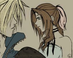 Cloud + Aeris by PianoxLullaby