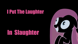 Pinkamina puts the laughter in by Alltoasters