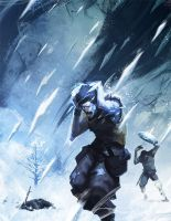 Ice Rain by nJoo