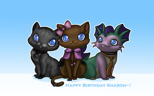 Happy Birthday Sharon by BakaMichi