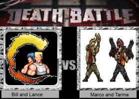 Death battle: Bill and Lance vs Marco and Tarma by Animewolfgamer