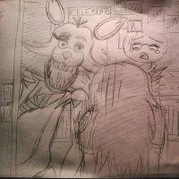 Doodles: Five Nights At Freddy's by KaidaTheDragon95