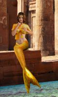 Mermaid Lidia ~ in the place of the ancients by sirenabonita