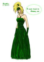 Dei's Green Dress by JouVal
