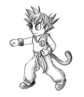 HTG 24 - Goku by GeminiShadows