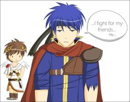 SSBB: I fight for my... by Kuromin