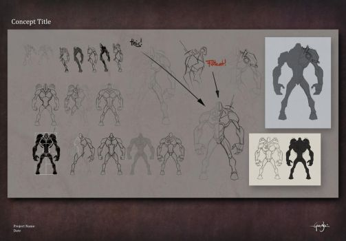 Athena Template and some Mech sketches by gregor-kari
