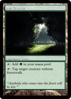 Lost Woods for MTG by Warrior-Within
