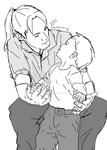 Edward Elric: Fatherhood by tony-dinozzo