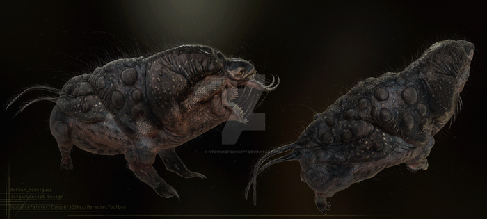 Creature Design 23 (retextured!) by ATouchOfConcept