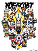Pixelated Yogscast thing by Brainfrozen