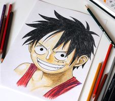 Monkey D. Luffy by BagiraN1984