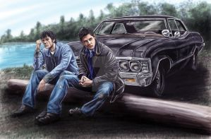Supernatural by TheArtofScott