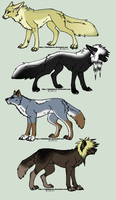Scene Doggy Adopt Set 3 by Muffin-Adopts
