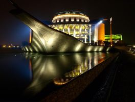 Hungarian National Theatre 2 by AgiVega