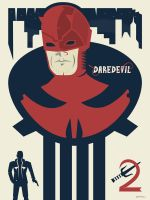 Marvel's Daredevil Season 2 by Jurassickevin