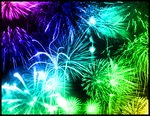 Fireworks Photoshop Brushes by JadedKat