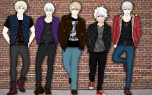Hetalia and Bleach - Rock N Roll by Neokillerqc