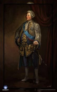 Assassin's Creed Unity concept art.King Louis XVI by Okmer