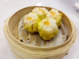 Steamed Siew Mai by nosugarjustanger
