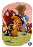 Wander Over Yonder by D3iv