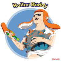 Roller Buddy by stupjam