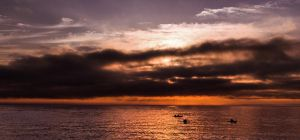 St. Lawrence sunrise by PasoLibre