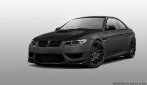 Matte Grey BMW M3 by Gurnade