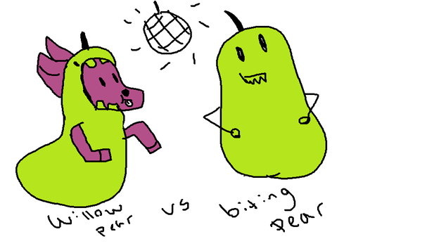 // pear vs pear \\ by UniwolfArts
