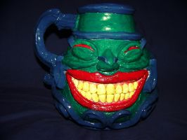 Pot of Greed sculpture by SlashManEXE