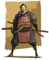 Samurai by JonEastwood