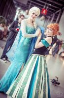 Frozen: Anna and Elsa by Alvi