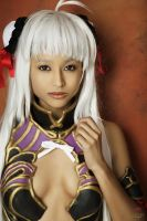 T-elos Xenosaga Swimsuit Cosplay by the-mirror-melts