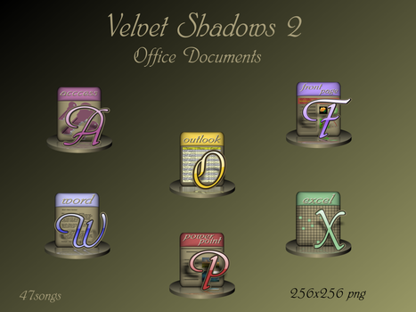 Velvet Shadows subpack _Office by 47songs