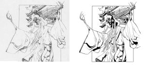 Iron Fist panel process by dfridolfs