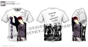 Onew Lucifer Jap on T-shirt by annisaretry