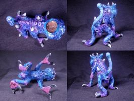 Imp Demon Familiar Converted Glass Pipe 5 by Undead-Art
