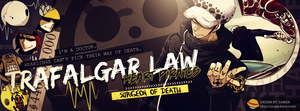 Trafalgar Law Cover 2 by BozZSai