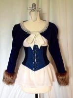 Wolf Girl - Blouse and Bolero by thealisabeth