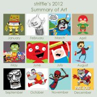 my 2012 by striffle